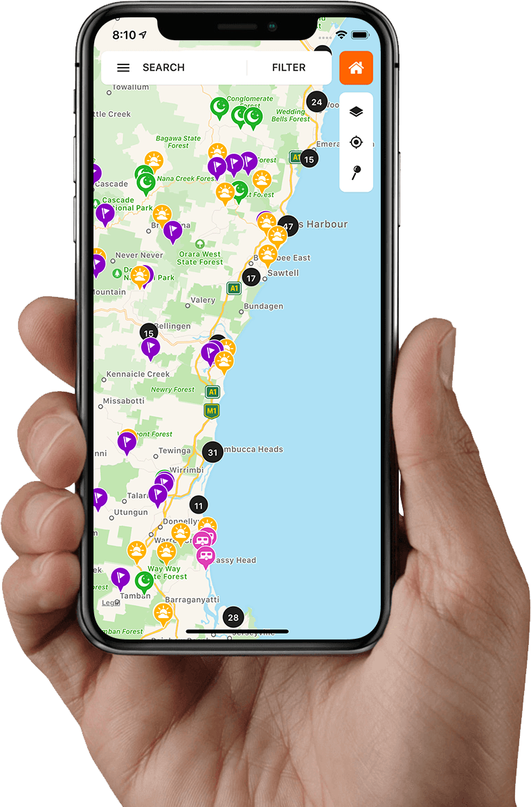 WikiCamps Australia | Camping app | Travel | iPhone iPad